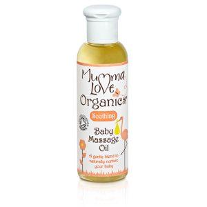 Mumma Love Organics Soothing Baby Massage Oil