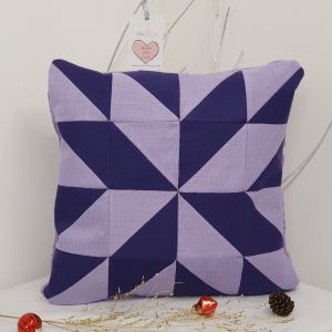 PURPLE PATTERN keepsake CUSHION