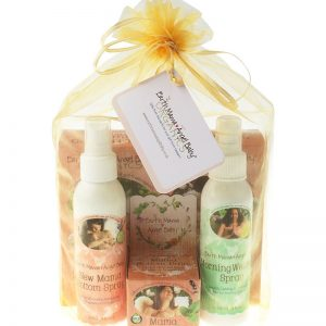 postpartum recovery gift bundle