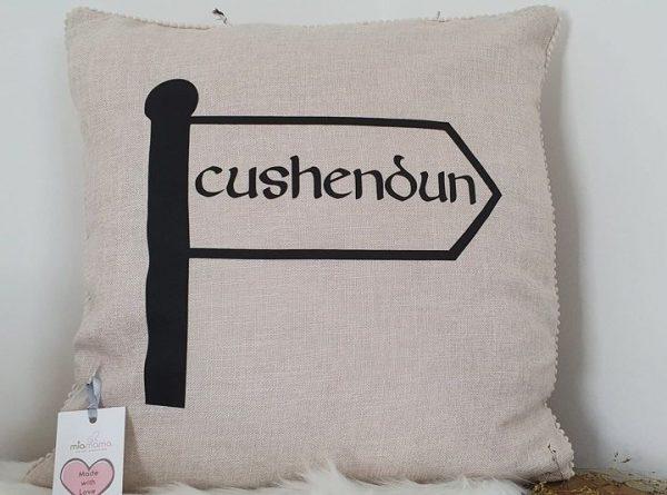 name place cushion