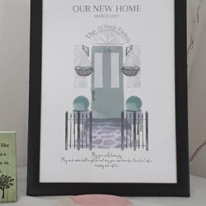new-home-green-door