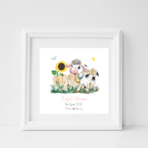 personalised baby frame